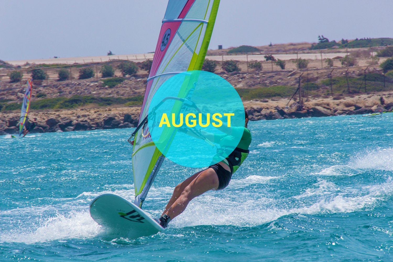 Windsurf courses on Karpathos in August