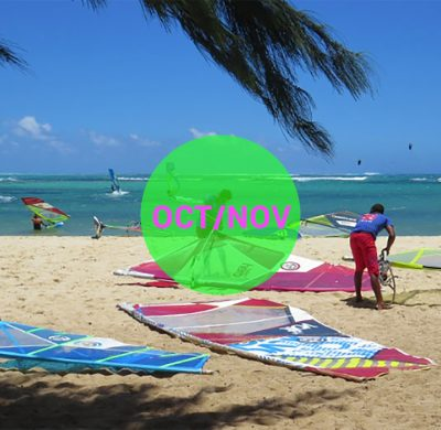 Windsurf courses on Mauritius october