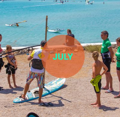 Windsurf courses July Karpathos